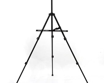 Atelier Easel Adjustable Height 53 cm-152 cm aluminium with pocket foldable