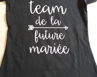 T-shirt bachelorette party Team bride