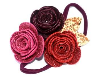 Fairy Glitter Crown Red