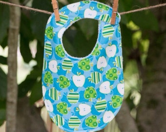 SALE-Baby Bib, Apple Bib, Bibs, Baby Bib, Baby Shower Gift, Baby Girl, Baby Boy, Baby Bibs, Bib, Baby Gift, Girl Bib, Chenille Bibs