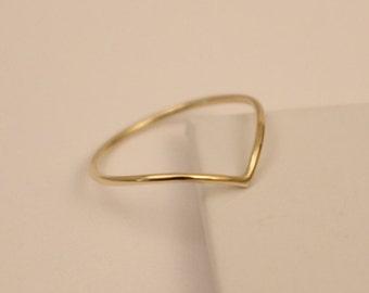 10k v ring, 10k wedding ring, 10k chevron ring, 10k stack ring, 10k thumb ring, 10k knuckle ring, 10k gold ring, 10k band ring