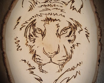 Handcrafted Wood Burning