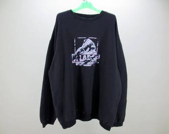 XLarge Sweatshirt Men Size XL Vintage XLarge Pullover X-Large Clothing Vintage Skateboards Sweats Made in Russia