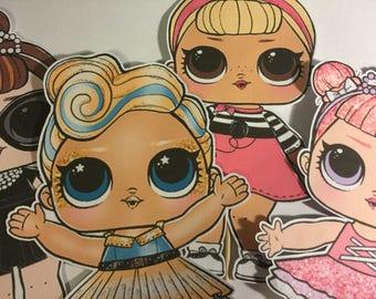 LOL Surprise Dolls Party Pack
