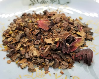 Make Mine Mocha - Organic, Herbal Tea Blend, Chocolate Tea, Mocha Chocolate Herbal Blend, Coffee Alternative