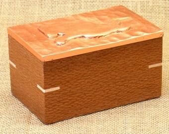 The Gilded Cat, Custom Wooden Box