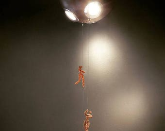 """ACROBAT Collection """"Planet"""" Small Ceiling Light"""