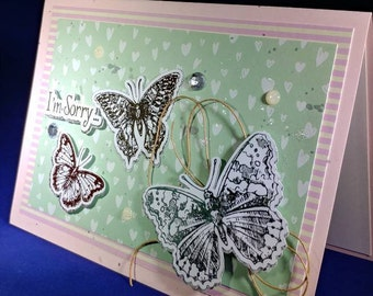 Handmade Thinking of you Cards *YOUR CHOICE*