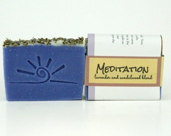 Sandalwood Lavender Soap- MEDITATION.