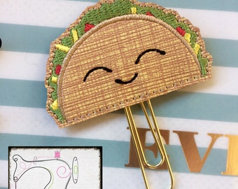 Taco Planner Clip