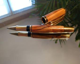 Bethlehem Olive Wood Roller ball pen