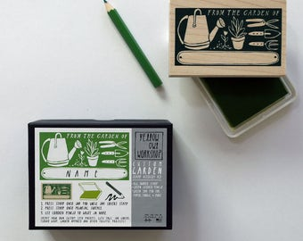 """ON SALE! """"From The Garden Of"""" Stamp Activity Kit"""