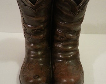 Brown Boots Planter