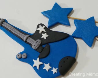 Edible guitar Etsy