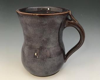 Large Stoneware Coffee Mug Handmade