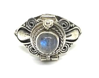 SRADA .925 Bali Silver Poison Ring