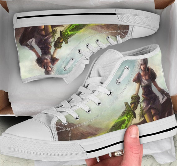 Shoes him for League Men's Colorful High Shoes Tops Legends Riven Tops sneakers Sneakers Shoes like Women's high of Gift Converse Looks RqgwCR6