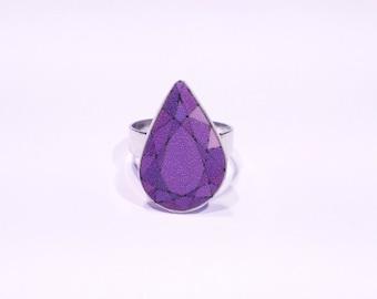Gemstone Ring Purple
