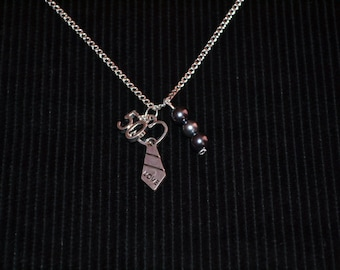 Fifty Shades of Grey Inspired Tie Necklace