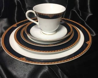1995-1997 Southbury by Wedgwood Discontinued China Pattern - 1  5 Piece Place Setting
