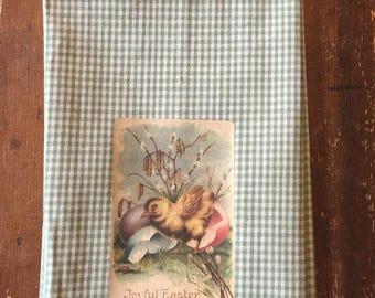 Vintage Easter chick Towel