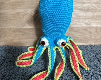 Crochet Squid