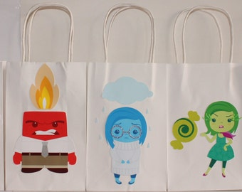 Inside Out Party Favor Bags