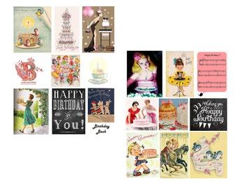 Birthday Bash Digital Collage Set