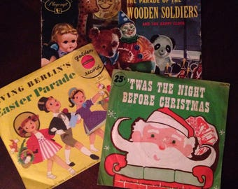 Children's Records from the 1950s / The Parade of the Wooden Soldiers / The Night Before Christmas /Easter Parade