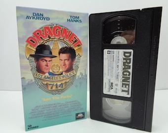 Dragnet VHS Tape Tom Hanks