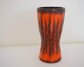 244-22 retro vintage vase scheurich West Germany