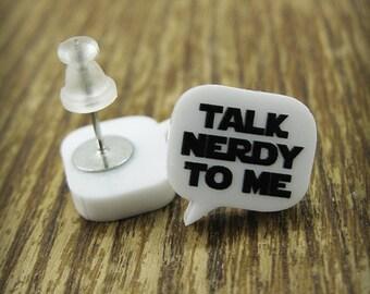 Talk Nerdy To Me Earrings