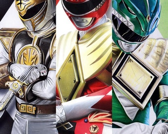 Power Rangers 3 Print Pack