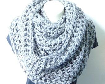 Crochet Scarf Pattern Crochet Scarf Infinity Cowl Crochet Pattern DIY Infinity Scarf Crochet Pdf Pattern Instant Download Pattern Winter