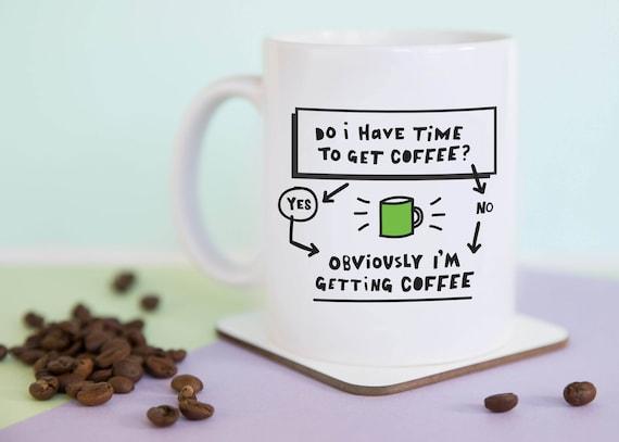 Time for Coffee Mug with gift box