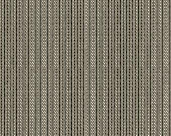 Weeping Willows - Black Stripe - 8348K - 1/2yd