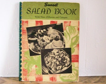 "Cookbook ""Sunset Salad Book"" 1948"