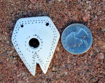 Antique Naga Shell Pendant