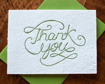 Thank You Scribble - Card