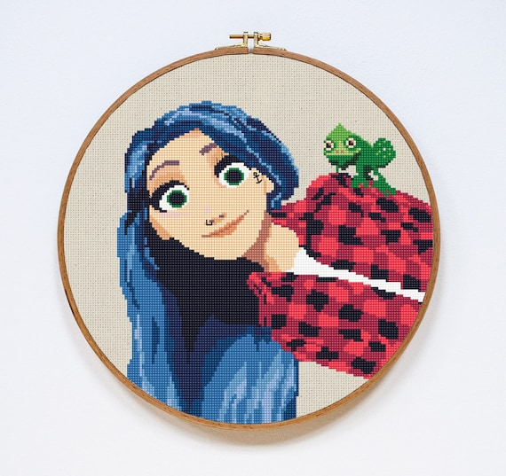 tangled cross stitch pattern pdf