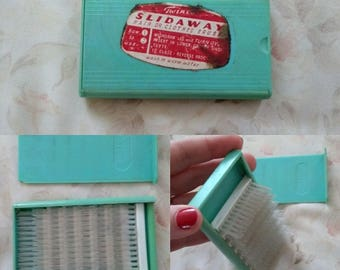 Very Quirky and Rare Slideaway Hair or Clothes Brush