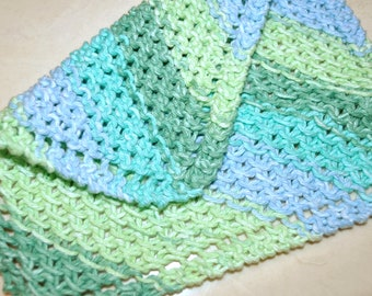 The Best Washcloth You'll Ever Use! - Blue/Green