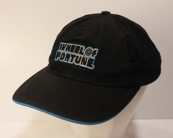 Vintage 1990s Trucker Ball Cap - Wheel of Fortune Win a Million! Promotional Cap -  Hipster, Rockabilly, Retro, Accessories