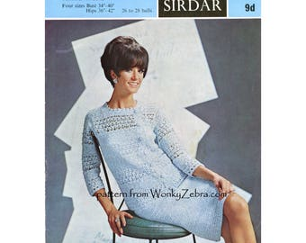 Crochet Suit Pattern Vintage PDF 273 from WonkyZebra