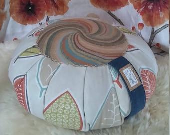 Luxury Handmade Meditation Cushion BoHo Pouffe Floor Pillow Zafu Buckwheat Seat