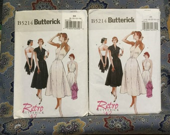 Butterick 40s Dress Pattern