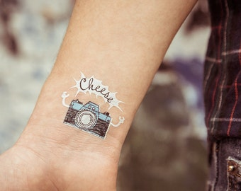 TEMPORARY TATTOO - camera
