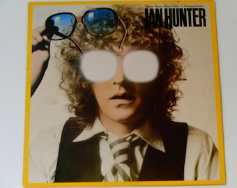 """Ian Hunter - You're Never Alone With a Schizophrenic - """"Life After Death"""" - Chrysalis Records 1979 - Vintage Vinyl Rock LP Record Album"""