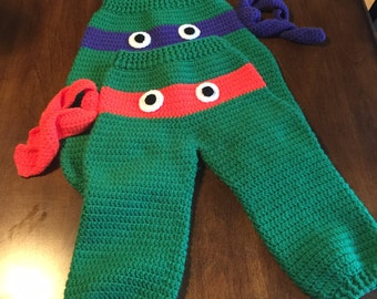 Crochet Turtle Pants