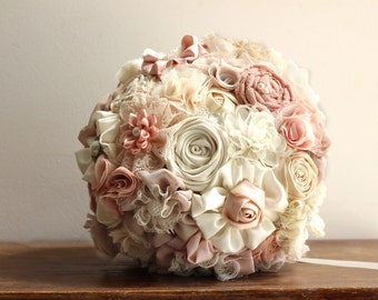 Ready to ship wedding  Bouquet, blush bouquet, bridal bouquet